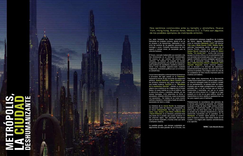 metropolis la ciudad deshumanizante
