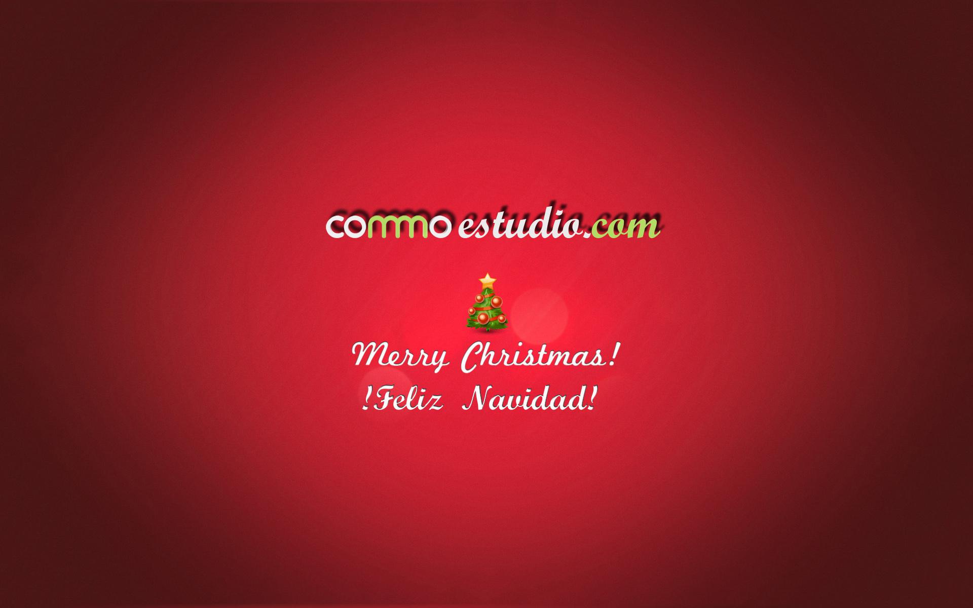 feliz navidad commo