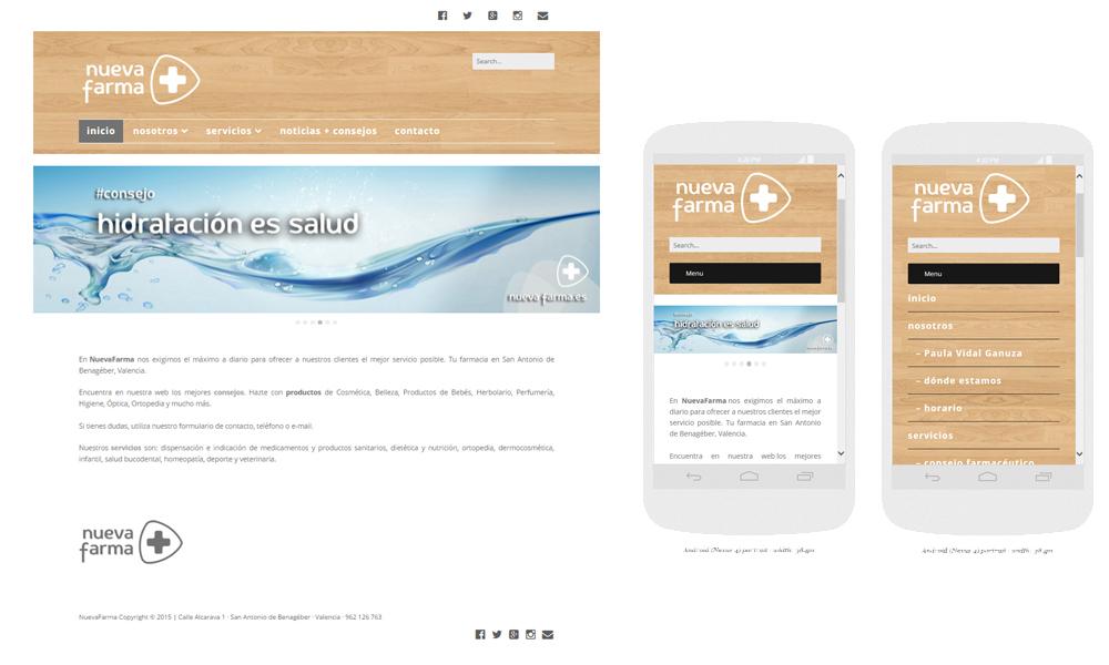 WEB corporativa y funciones