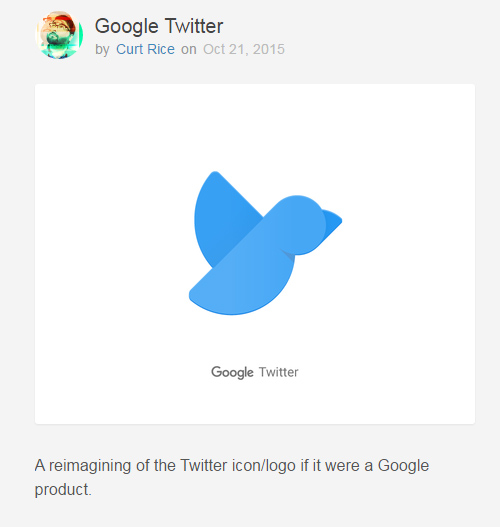 twitter by google