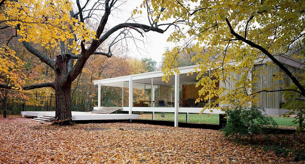 Iconos de la arquitectura la casa farnsworth commoestudio - Casa farnsworth ...