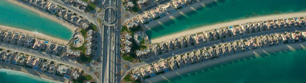 Dubai Palm Jumeirah detalle