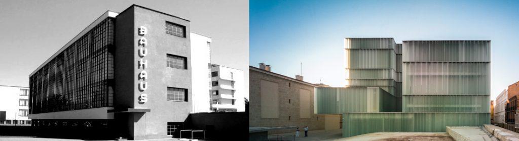 Escuelas de Arquitectura BAUHAUS + GRANADA