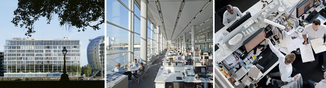 Arquitectura y arquitectos commo estudio for Bauhaus oficinas centrales